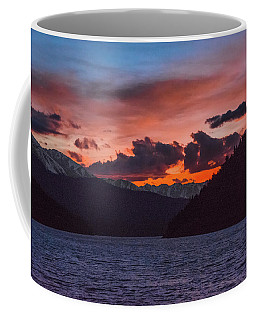 Majestic Sunset In Summit Cove Coffee Mug