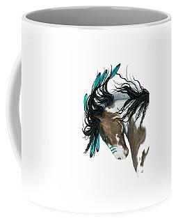 Majestic Turquoise Horse Coffee Mug