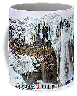 Majesty  Of The Waterfalls, Iceland Coffee Mug