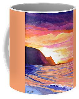 Makana Sunset Coffee Mug by Marionette Taboniar