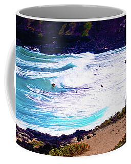 Panorama - Makapu'u Beach Park, Oahu, Hawaii  Coffee Mug
