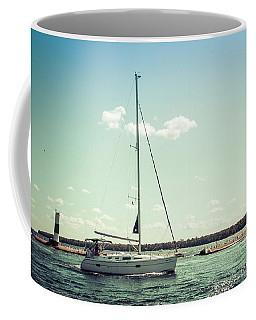 Coffee Mug featuring the photograph Make Headway by Joel Witmeyer