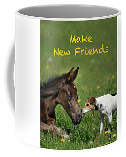 Make New Friends Coffee Mug