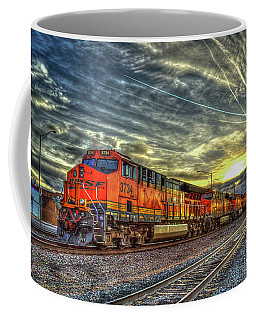 Make Way Resting B N S F Train Gallup New Mexico Art Coffee Mug
