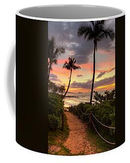 Makena Sunset Path Coffee Mug