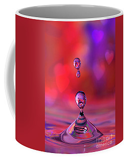 Coffee Mug featuring the photograph Making A Splash by Darren Fisher