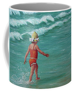 Making A Splash   Coffee Mug by Susan DeLain