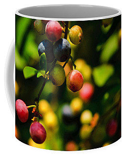 Making Blueberries Coffee Mug
