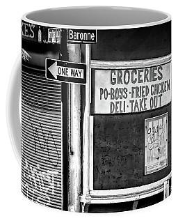Making Groceries In New Orleans Coffee Mug by Kathleen K Parker