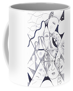Making Points In Multiple Perspectives Coffee Mug