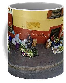 Making Souvenirs On Palm Sunday Coffee Mug
