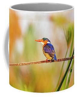 Malachite Kingfisher Hunting Coffee Mug