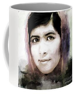 Malala Yousaf Zai 10 Coffee Mug by Gull G