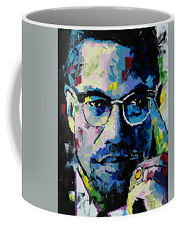 Malcolm X Coffee Mug by Richard Day