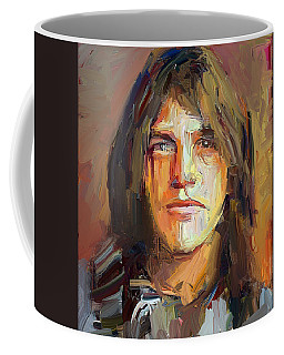 Malcolm Young Acdc Tribute Portrait Coffee Mug
