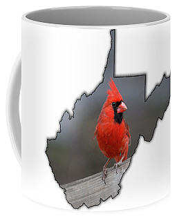 Male Cardinal One Of The Most Recognizable Birds Coffee Mug
