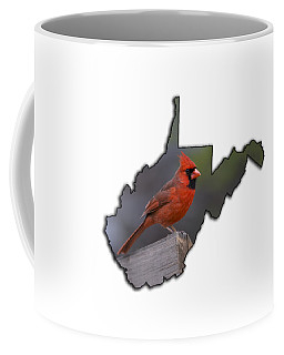 Male Cardinal Perch  Coffee Mug