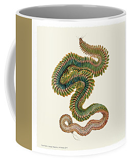 Coffee Mug featuring the digital art Male Clam Worm by Art MacKay