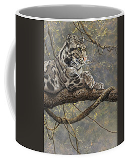 Male Clouded Leopard Coffee Mug
