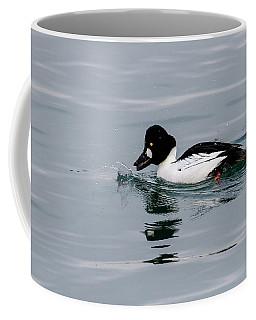 Male Common Goldeneye Coffee Mug