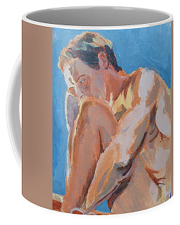 Male Nude Painting Coffee Mug