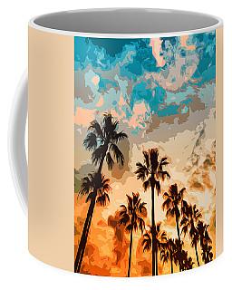Malibu Beach - Heaven's Sky Coffee Mug