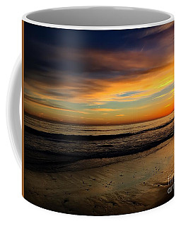 Malibu Beach Sunset Coffee Mug