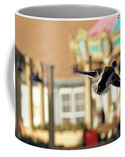 Mallard Duck And Carousel Coffee Mug