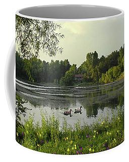 Mallards Lake II Coffee Mug by Doug Kreuger