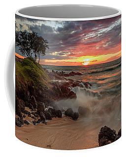 Maluaka Beach Sunset Coffee Mug
