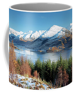 Coffee Mug featuring the photograph Mam Ratagan by Grant Glendinning