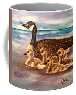 Mama And Ducklings Coffee Mug