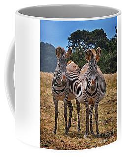 Mama And Friend Coffee Mug by Melinda Hughes-Berland