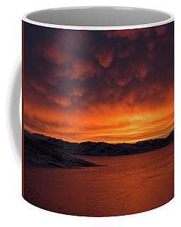 Mamantus Clouds Over Wildhorse Reservoir, Nv Coffee Mug