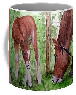 Mamma And Her Baby Coffee Mug