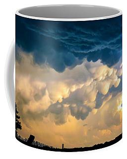 Mammatus Clouds At Sunset Coffee Mug