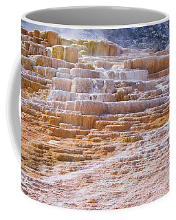 Mammoth Terraces Of Yellowstone Coffee Mug