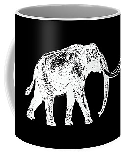 Mammoth White Ink Tee Coffee Mug