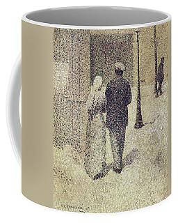 Man And Woman In The Street Coffee Mug