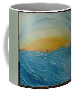 Man As Flower Coffee Mug