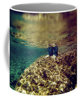 Man Feet Coffee Mug