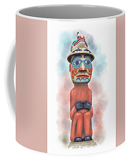 Man From Bear Clan Coffee Mug
