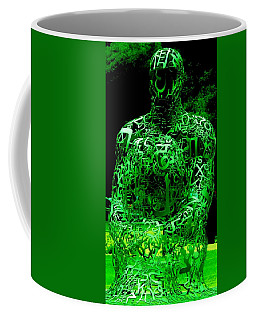 Man In Green Coffee Mug