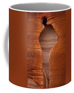 Man In Rock Coffee Mug