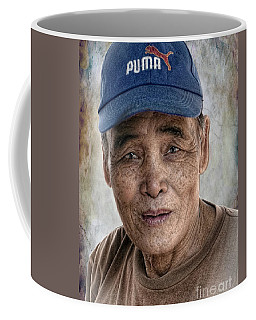 Man In The Cap Coffee Mug