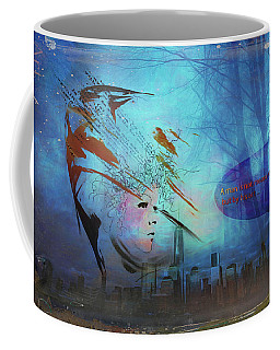 Man Is Art Coffee Mug