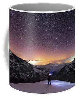 Man On Mars Coffee Mug