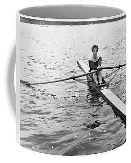 Man Rowing A Scull Coffee Mug