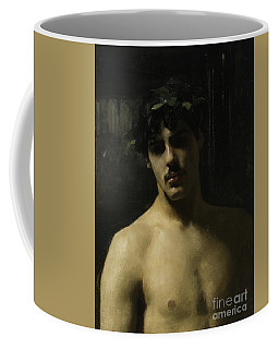 Man Wearing Laurels Coffee Mug