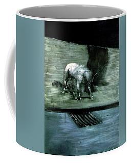 Man With Dog  Coffee Mug